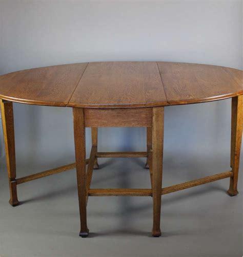 drop leaf craft table arts and crafts period oak gate leg drop leaf dining