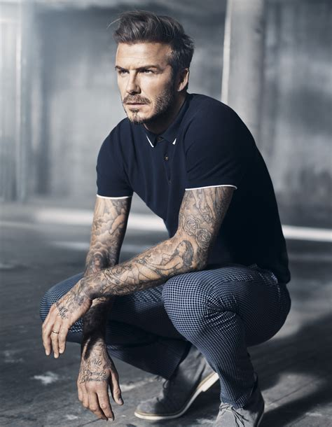 David Beckham Wardrobe by H M Launch Modern Essentials Selected By David Beckham