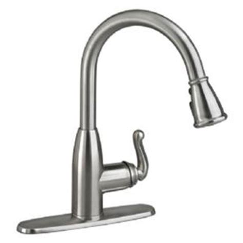 American Standard Symphony Kitchen Faucet by American Standard Symphony Single Handle Pull Sprayer