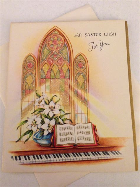 catholic easter card template vintage easter card religious glitter greeting card church