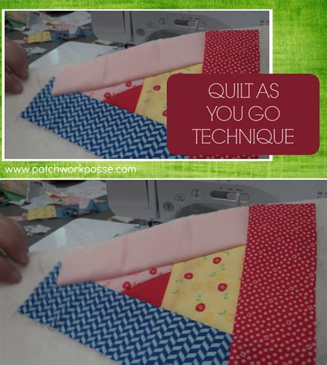 Quilt As You Go Tutorials by Quilt As You Go With Tutorial