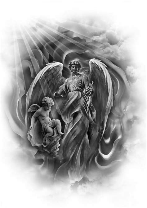 religious angel tattoo designs 25 best ideas about on