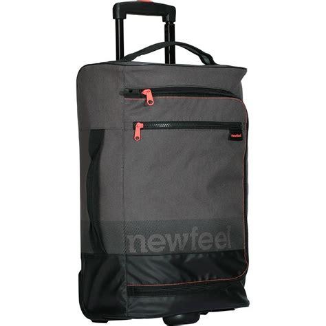 valigia cabina valigia cabina tr 120 30l newfeel bagagli viaggio borse