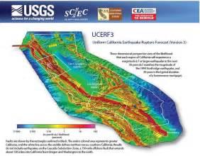 california earthquake prediction map new california earthquake forecast earth earthsky
