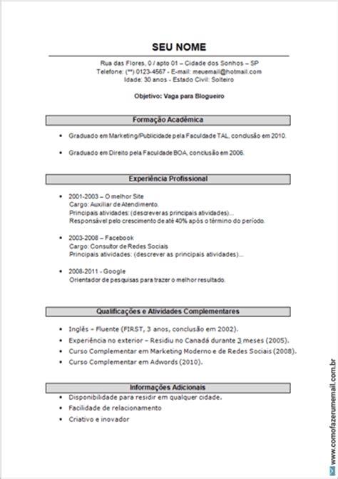 currculum 2016 modelo modelo a copiar de curriculum vitae modelo de curriculum