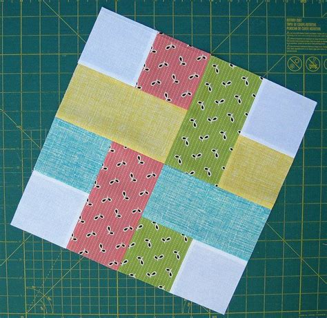 quilt pattern rectangles very simple quilt block made of squares and rectangles