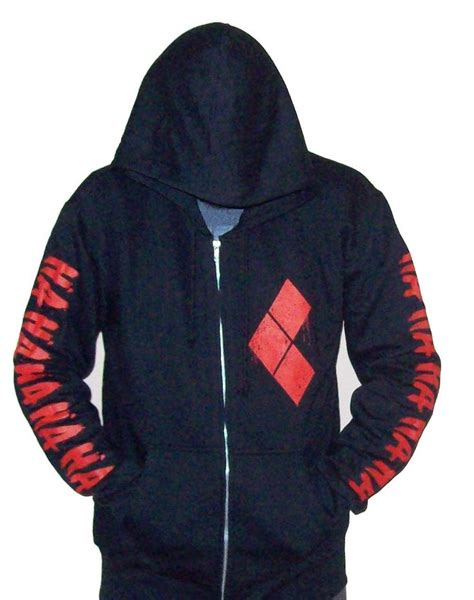 Zipper Hoodie Sweater Uicide Squad Joker Hitam 1000 images about harley quinn on harley
