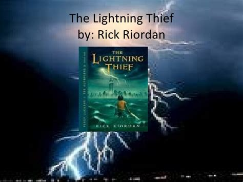 lightning thief book report lightning thief book review project