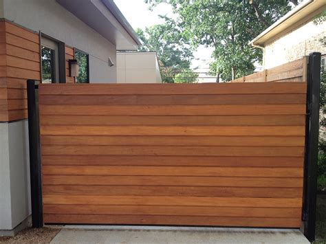 Outdoor Living Wood Amp Iron Gate Horizontal Contemporary The Global