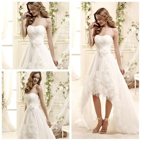 pattern dress short front long back china spring organza short front long back wedding dress