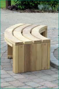 curved patio bench curved wooden bench for garden and patio homesfeed