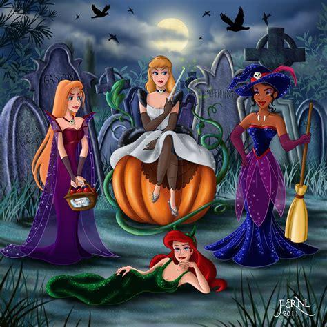 disney wallpaper for adults princess in halloween disney princess photo 26253039