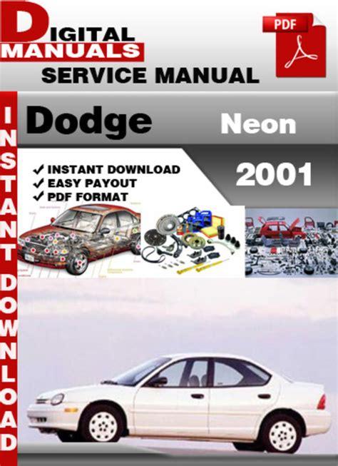 online car repair manuals free 2000 dodge neon parental controls dodge neon 2001 factory service repair manual download manuals a