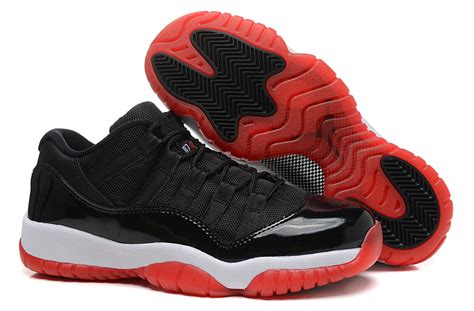 Nike Air 11 Retro High Blackwhitered s nike air 11 retro low black white