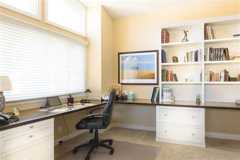 Design For Large Office Desk Ideas 26 Home Office Designs Desks Shelving By Closet Factory
