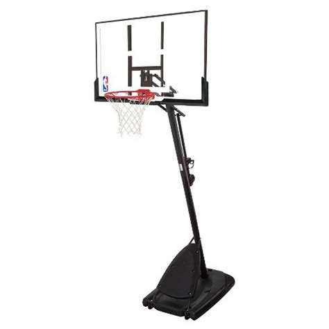 Harga Ring Basket Portable by Spalding Nba 50 Quot Polycarbonate Portable Basketball Hoop