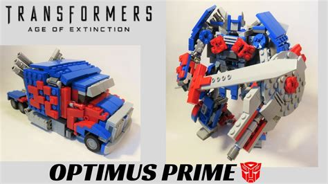 Transformer Optimus Prime Lego lego transformers age of extinction optimus prime western funnydog tv