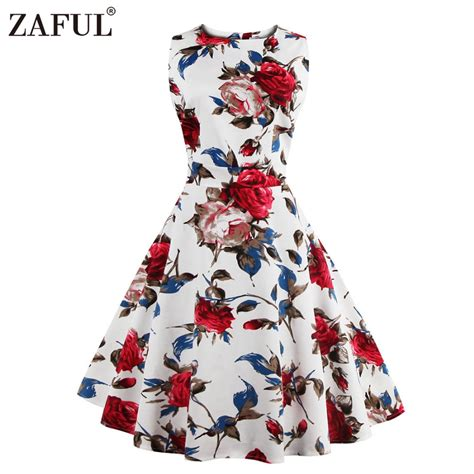10 Brands To Buy High Waist From by Aliexpress Buy Zaful Brand 2017 Vintage Dress