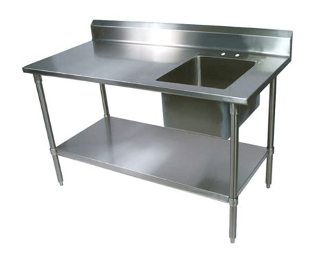 stainless steel table with sink prep table with sink laurensthoughts