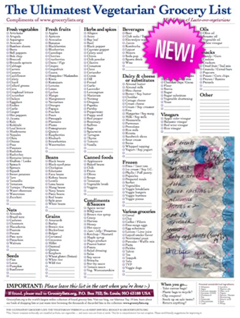 ultimate vegan shopping list pdf new ultimatest grocery lists deluxe v3 0 and vegetarian