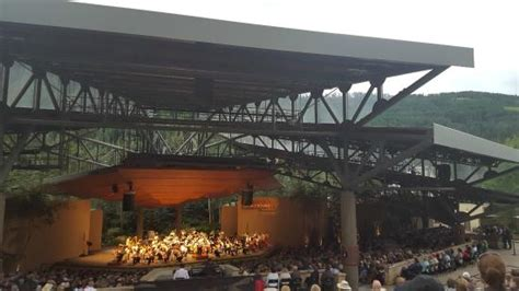 summer concert picture of gerald ford hitheater vail