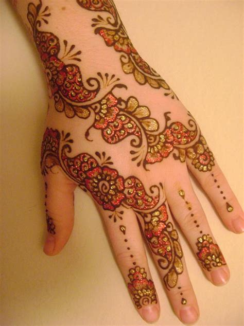 henna design with glitter simple pakistani mehndi designs for hands images facebook