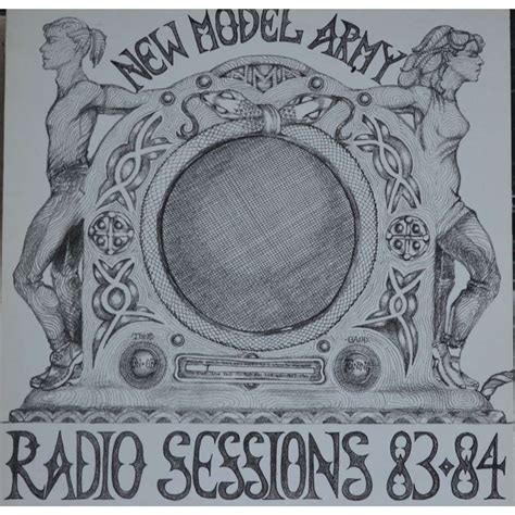 Radio Sessions radio sessions 83 84 by new model army lp with pycvinyl