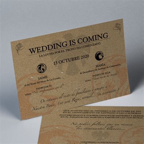 invitaciones para bodas papel kraft tubodamovil invitaci 243 n de boda kraft 20251 de easycards wedding is coming