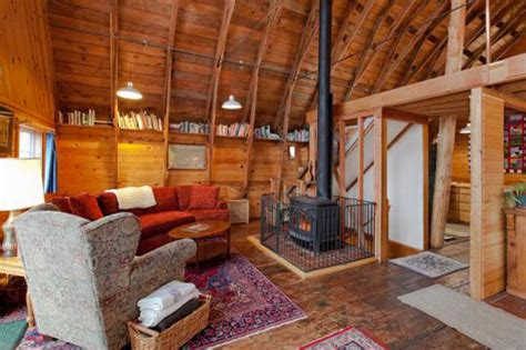 Interior Barn Designs by Dairy Barn Converted Into An Eco Home Filled With