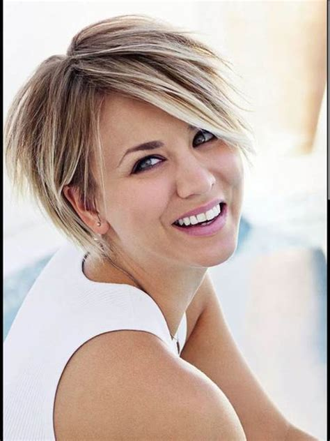 8 kaley cuoco short hair short hair 2017