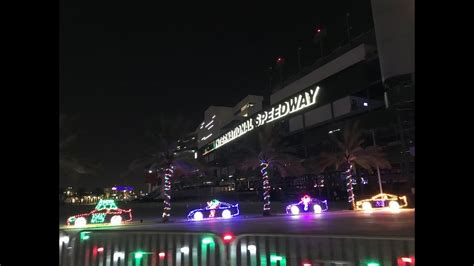 daytona speedway lights magic of lights at daytona international speedway 2017