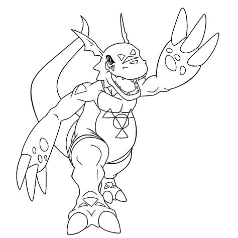 digimon coloring pages coloring page digimon coloring pages 38