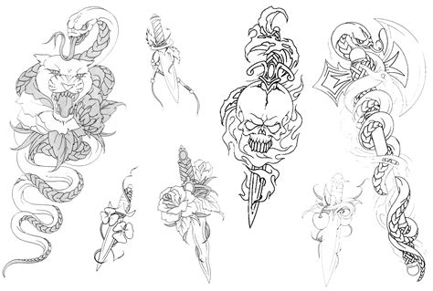 tattoo flash line art skull roses line drawing other tattoo tattoo design art