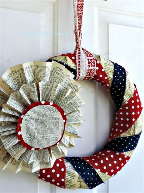 diy patriotic wreath ideas    july  memorial day hative