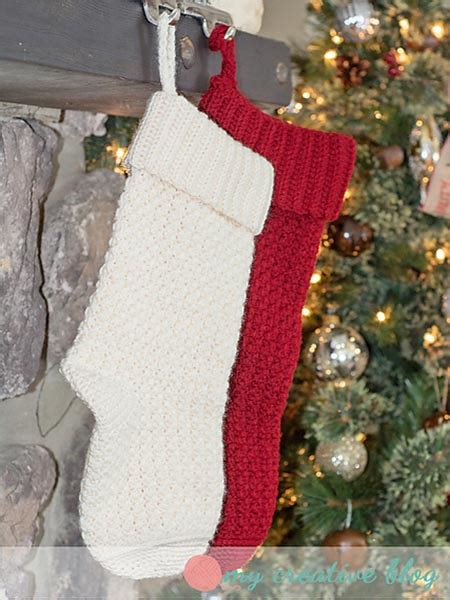 free pattern for lined christmas stocking crochet treasures 10 free christmas stockings crochet