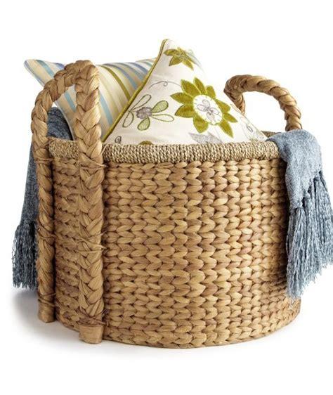 large basket for storing throw pillows 17 best ideas about blanket basket on pinterest blanket