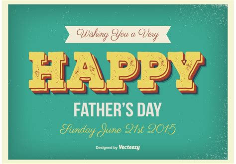 fathers day posters vintage s day poster free vector