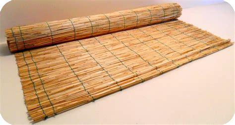stuoie di canne stuoie cannette bamboo in rotoli per coperture e parasole