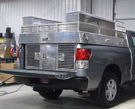 dog hunting truck multiple dog dog boxes let them ride in style truck