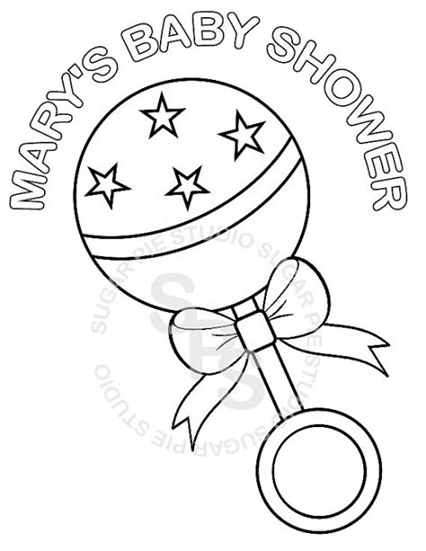 printable coloring pages for baby showers printable baby shower free coloring pages on art