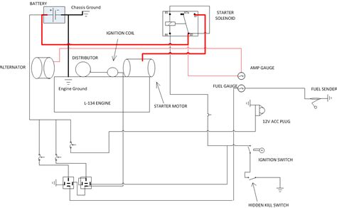 cj2a wiring diagram 12 volt autos post