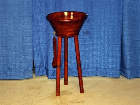 wooden bowl stand large wooden salad bowl on stand