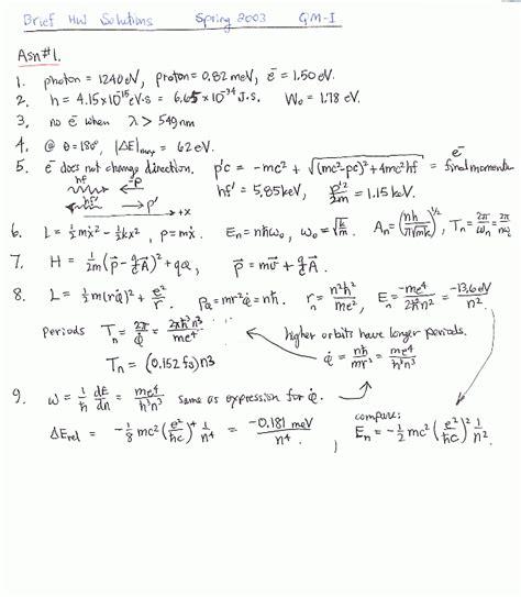 Quantum Mechanics I Ksu Physics 811