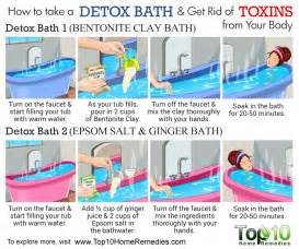 Should I Shower After Epsom Salt Bath How To Make A Detox Bath To Get Rid Of Toxins From Your
