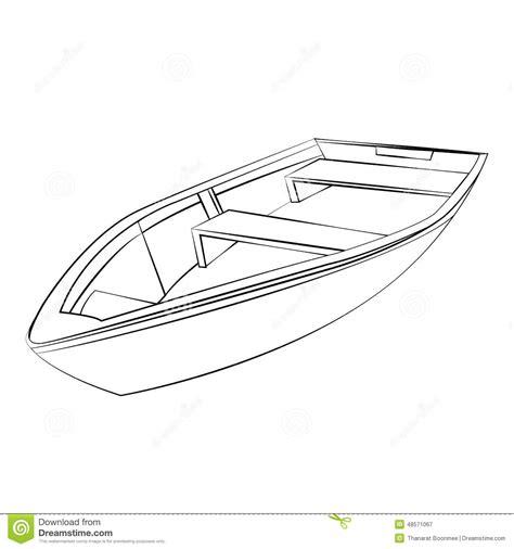 outline for boat outline image of boat www pixshark images