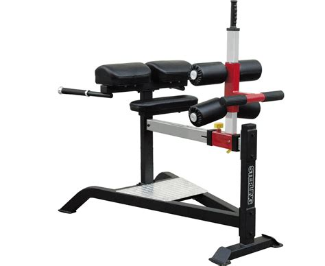 glute ham raise on hyperextension bench impulse glute ham bench sl7013 fitnessger 228 te von