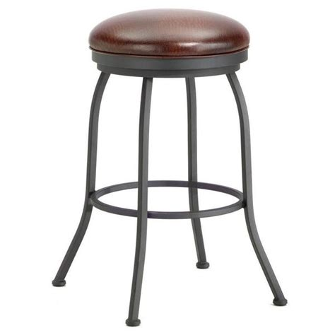 Iron Mountain Counter Stools by Iron Mountain 2002126 Fiesole Backless Counter Stool 26