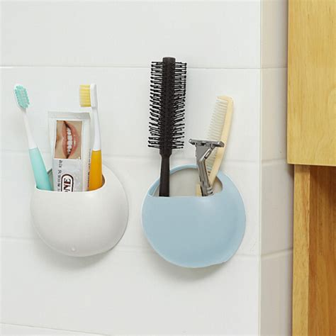 Design A Bathroom Online For Free creative couple toothbrush holder suction cup toothpaste