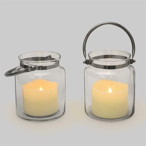 Hurricane Lantern Candle Lights Flameless Candles Lanterns Brighton Glass