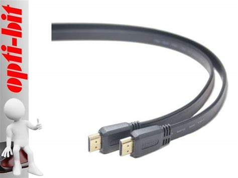 Kabel Hdmi Bafo 3m Flat kabel hdmi hdmi v1 4 flat high speed ethernet 3m g